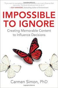 Carmen Simon's Impossible to Ignore